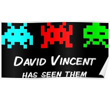 David Vincent has seen them parody Invaders Poster