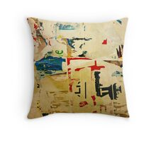 Paper Memories Throw Pillow