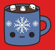 Mug of hot chocolate with cute marshmallows Kids Tee