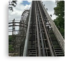 Outlaw Run Rollercoster Canvas Print