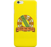 The Simpsons: In rod we trust iPhone Case/Skin