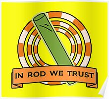 The Simpsons: In rod we trust Poster