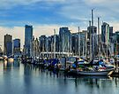 Downtown Vancouver from Coal Harbour by Yukondick