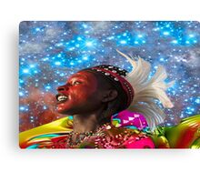 African Star Dreamer Canvas Print