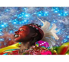 African Star Dreamer Photographic Print