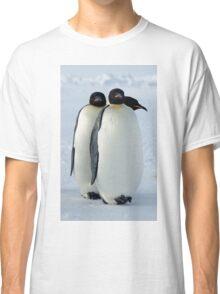 Emperor Penguins Huddled Classic T-Shirt