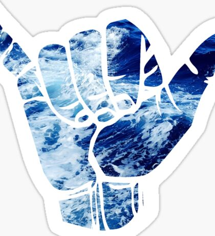 Water Shaka Sticker