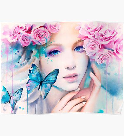 Pink Constellation Poster