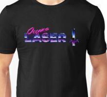Occams Laser Chrome Cross Logo Unisex T-Shirt