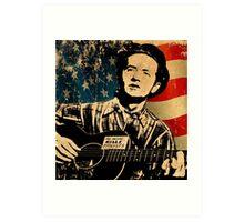 Woody Guthrie 1 Art Print