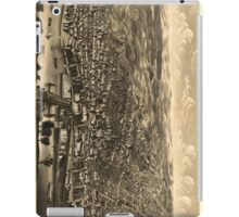 Vintage Pictorial Map of Albany New York (1879) iPad Case/Skin
