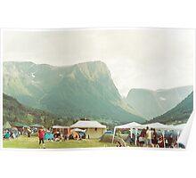 Mountain festival Poster