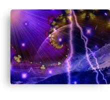 Lunar Storm Canvas Print