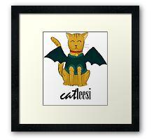 Catleesi Framed Print