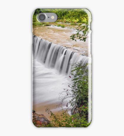 Anderson Falls, Indiana iPhone Case/Skin