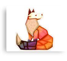 Citrine Fox Canvas Print