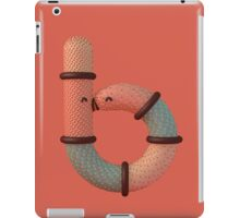 Snuggle Font: Letter B iPad Case/Skin