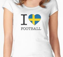 I ♥ SWEDEN Women's Fitted Scoop T-Shirt