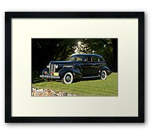 1938 Buick Century Series 60 Sedan Framed Print