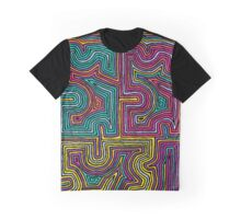 Concentric Lines-1 Graphic T-Shirt