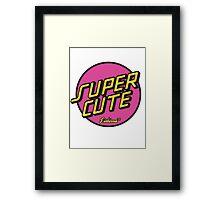 Super Cute Framed Print