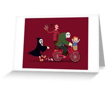 Horror Night Off Greeting Card