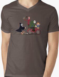 Horror Night Off Mens V-Neck T-Shirt