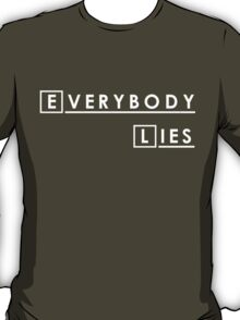 House MD Everybody Lies Hugh Laurie T-Shirt