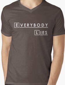 House MD Everybody Lies Hugh Laurie Mens V-Neck T-Shirt