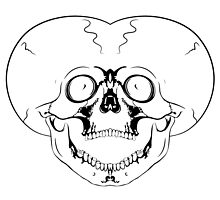 screaming skull by siloto
