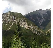 Austrian Mountainside Photographic Print
