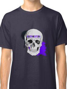 NORTHWESTERN SKULL STICKER AND LEGGINGS Classic T-Shirt