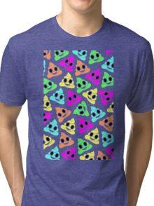 Colourful Poop Emojis! Tri-blend T-Shirt