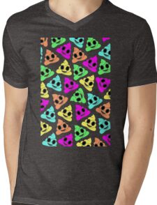 Colourful Poop Emojis! Mens V-Neck T-Shirt