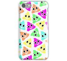 Colourful Poop Emojis! iPhone Case/Skin