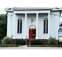 Old Little Church Facade Photographic Print
