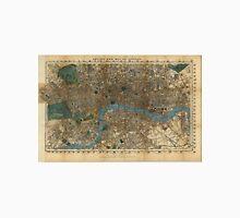 Vintage Map of London England (1860) Unisex T-Shirt