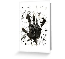 Hands of Nature Greeting Card