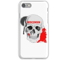 WISCONSIN STICKER AND LEGGING iPhone Case/Skin