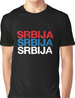 SERBIA Graphic T-Shirt