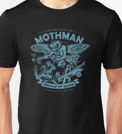 Mothman - Cryptids Club Case file #299 Unisex T-Shirt
