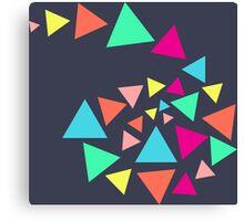 Triangle Heaven Canvas Print