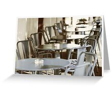 Terras in France Greeting Card