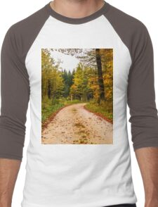 Path to Autumn Men's Baseball ¾ T-Shirt