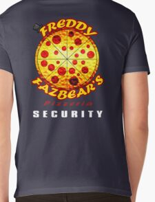 Official Employee of Freddy Fazbear's Pizzeria Mens V-Neck T-Shirt