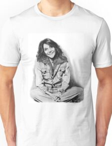 Karen Carpenter Graphite Drawing Unisex T-Shirt