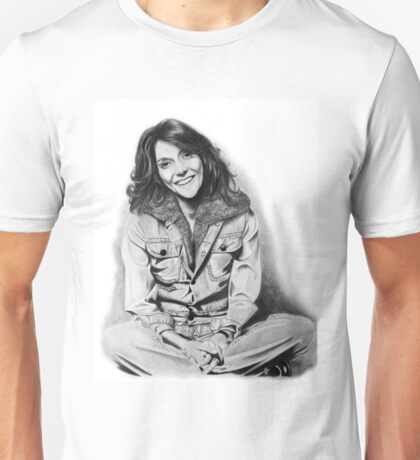 Karen Carpenter Graphite Drawing Unisex T-Shirt