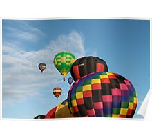 Hot Air Balloon Flights Poster