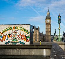 London Souvenirs and Big Ben by Sue Martin