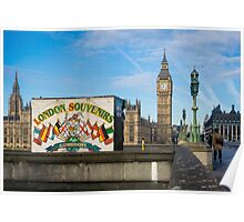 London Souvenirs and Big Ben Poster